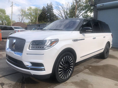 2018 Lincoln Navigator L for sale at Champs Auto Sales in Detroit MI