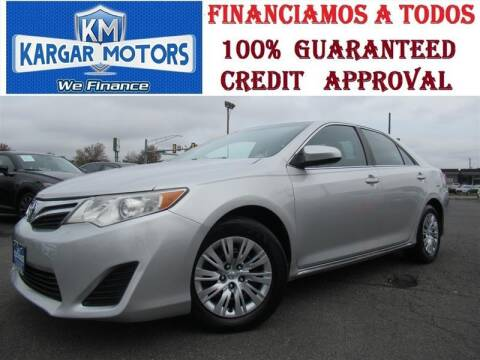 2012 Toyota Camry for sale at Kargar Motors of Manassas in Manassas VA