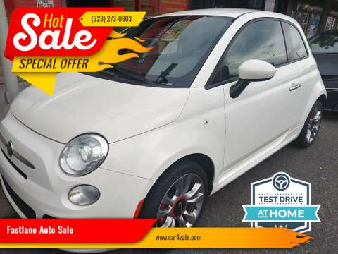2015 FIAT 500 for sale at Fastlane Auto Sale in Los Angeles CA