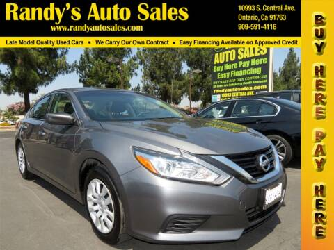 2018 Nissan Altima for sale at Randy's Auto Sales in Ontario CA