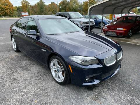 2014 BMW 5 Series for sale at Hillside Motors in Jamestown KY