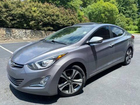 2014 Hyundai Elantra for sale at Gwinnett Luxury Motors in Buford GA