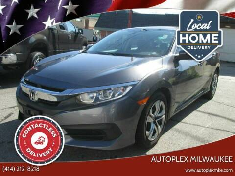 2016 Honda Civic for sale at Autoplex Milwaukee in Milwaukee WI