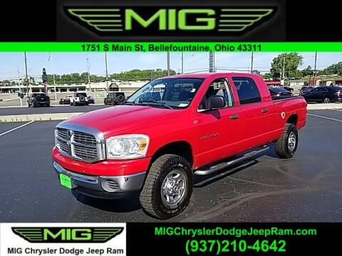 2007 Dodge Ram Pickup 1500 for sale at MIG Chrysler Dodge Jeep Ram in Bellefontaine OH