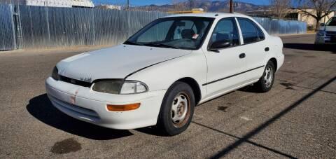 1996 GEO Prizm for sale at One Community Auto LLC in Albuquerque NM