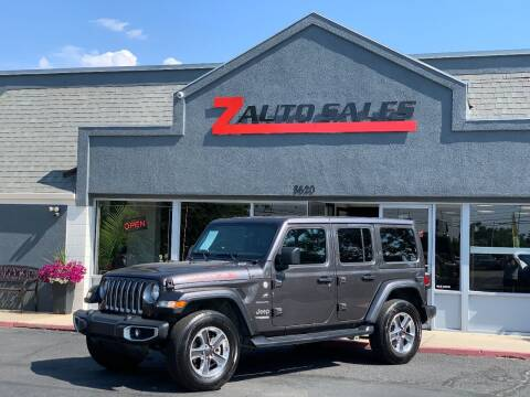 2020 Jeep Wrangler Unlimited for sale at Z Auto Sales in Boise ID