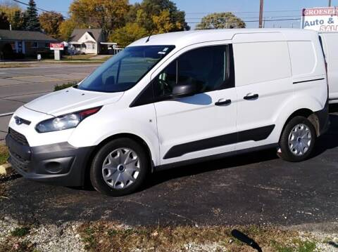 2016 Ford Transit Connect Cargo for sale at Groesbeck TRUCK SALES LLC in Mount Clemens MI