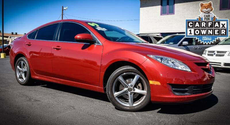 2009 Mazda MAZDA6 for sale at Rahimi Automotive Group in Yuma AZ