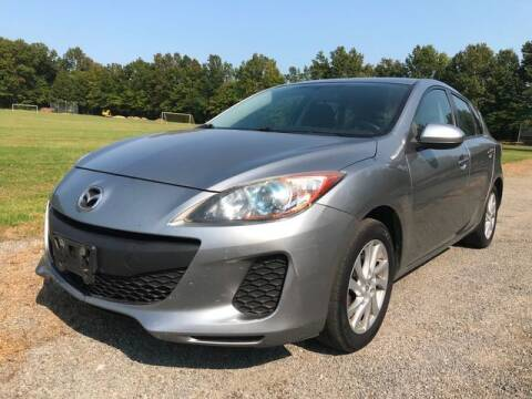 2012 Mazda MAZDA3 for sale at GOOD USED CARS INC in Ravenna OH