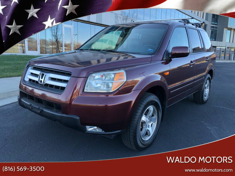 2007 Honda Pilot for sale at WALDO MOTORS in Kansas City MO