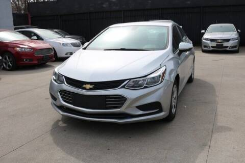 2016 Chevrolet Cruze for sale at F & M AUTO SALES in Detroit MI