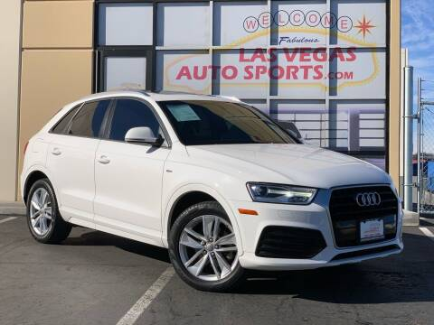 2018 Audi Q3 for sale at Las Vegas Auto Sports in Las Vegas NV