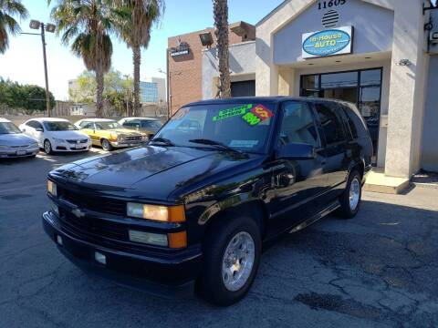 2000 Chevrolet Tahoe Limited/Z71 for sale at In-House Auto Finance in Hawthorne CA