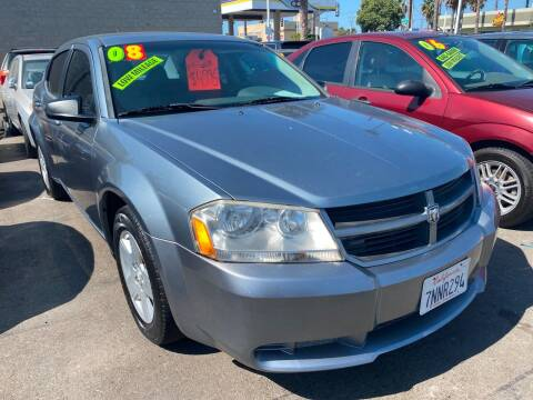 2008 Dodge Avenger for sale at North County Auto in Oceanside CA