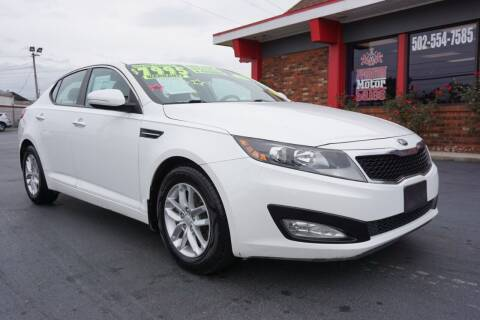 2013 Kia Optima for sale at Premium Motors in Louisville KY