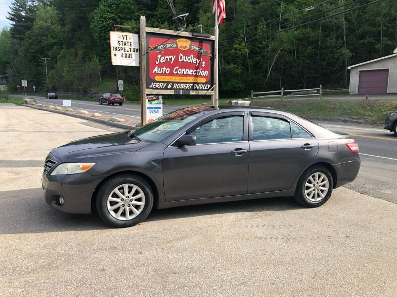 2011 Toyota Camry for sale at Jerry Dudley's Auto Connection in Barre VT