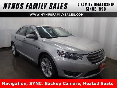 2018 Ford Taurus for sale at Nyhus Family Sales in Perham MN
