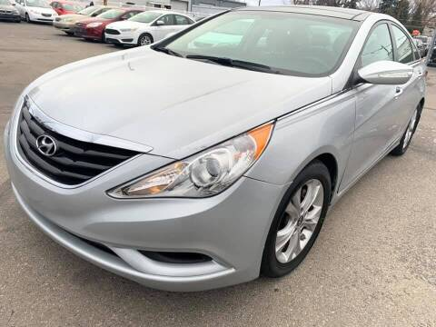 2013 Hyundai Sonata for sale at RABI AUTO SALES LLC in Garden City ID