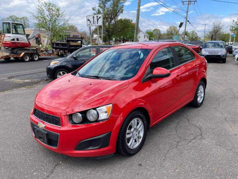 2013 Chevrolet Sonic for sale at ENFIELD STREET AUTO SALES in Enfield CT