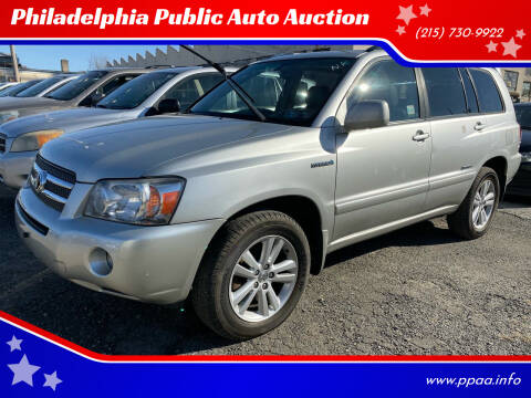 2007 Toyota Highlander Hybrid for sale at Philadelphia Public Auto Auction in Philadelphia PA