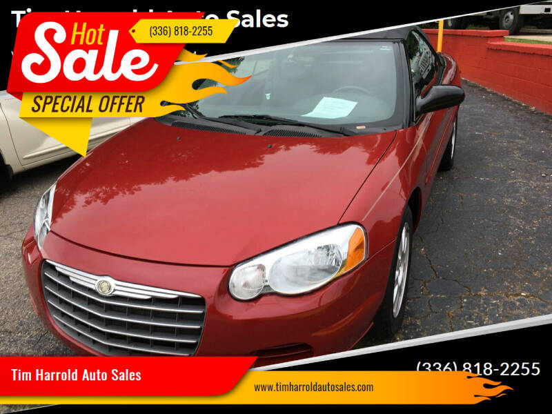2006 Chrysler Sebring for sale at Tim Harrold Auto Sales in Wilkesboro NC