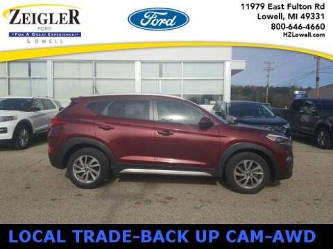 2017 Hyundai Tucson for sale at Zeigler Ford of Plainwell- michael davis in Plainwell MI