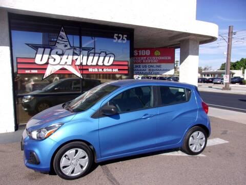 2018 Chevrolet Spark for sale at USA Auto Inc in Mesa AZ