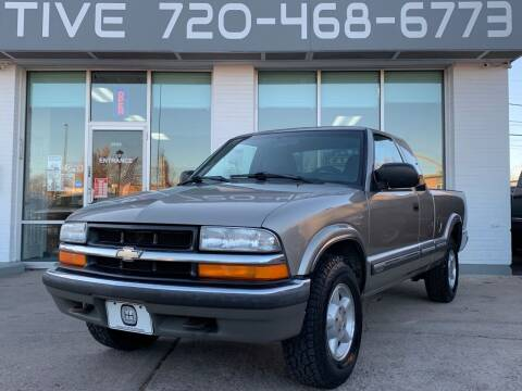 2000 Chevrolet S-10 for sale at Shift Automotive in Denver CO