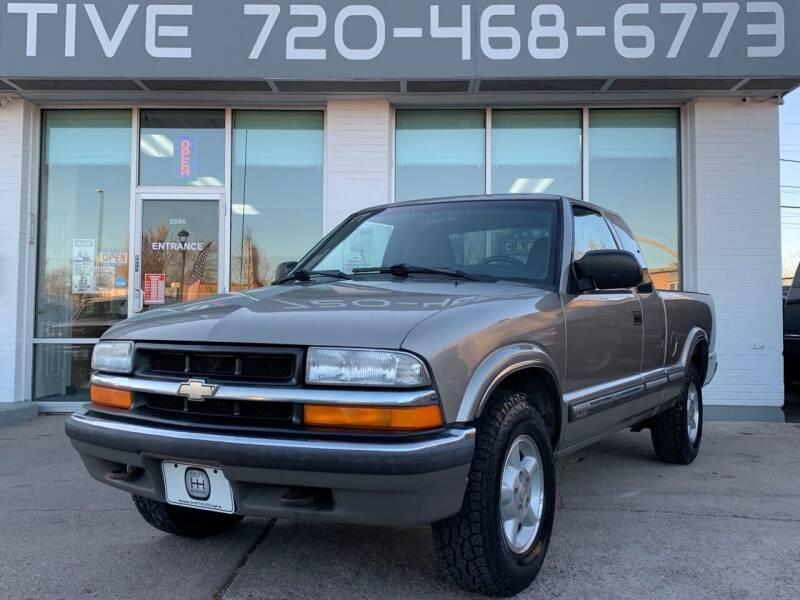 2000 Chevrolet S-10 for sale at Shift Automotive in Denver CO