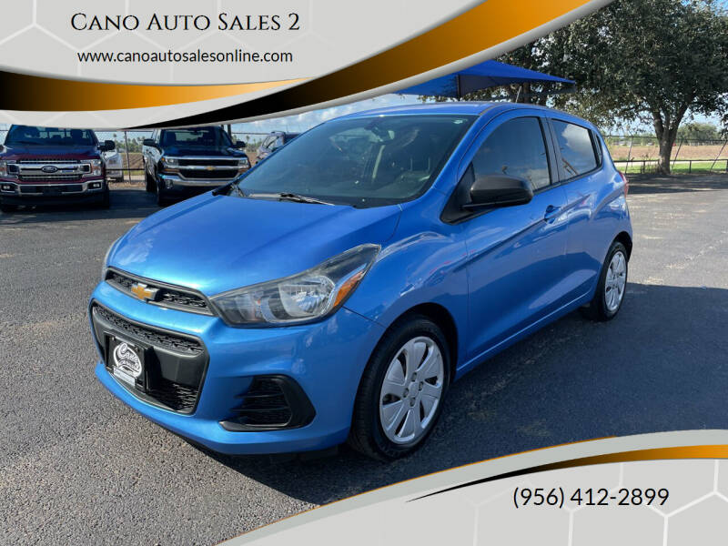 2017 Chevrolet Spark for sale at Cano Auto Sales 2 in Harlingen TX