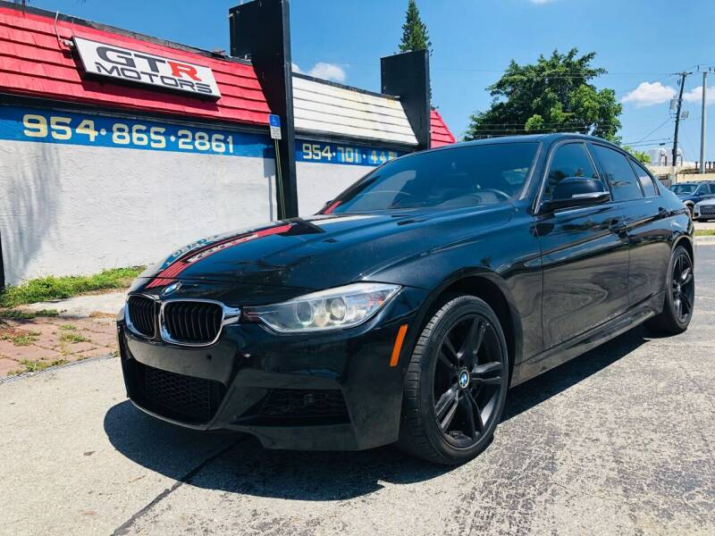 2015 BMW 3 Series for sale at GTR MOTORS in Hollywood FL