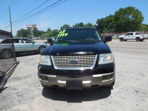 2003 Ford Expedition for sale at SCOTT HARRISON MOTOR CO in Houston TX