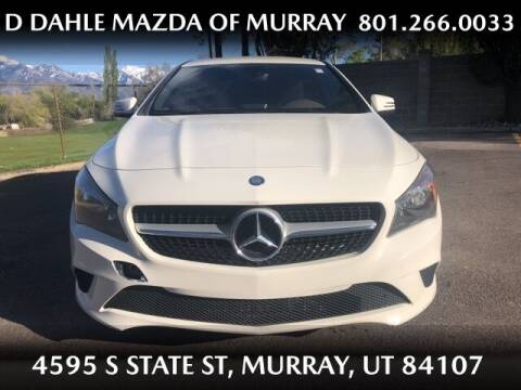 2014 Mercedes-Benz CLA for sale at D DAHLE MAZDA OF MURRAY in Salt Lake City UT