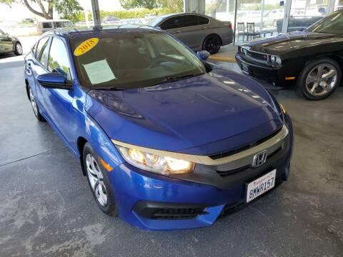 2018 Honda Civic for sale at Sac River Auto in Davis CA