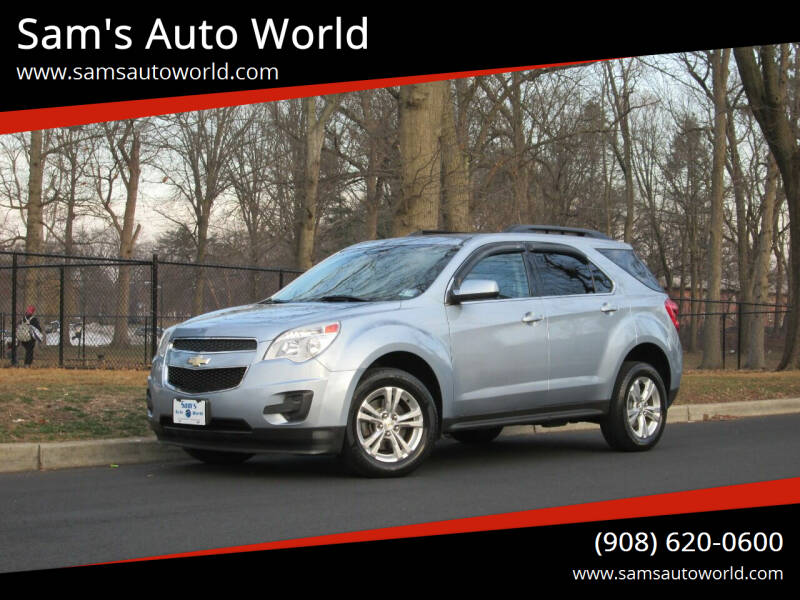 2014 Chevrolet Equinox for sale at Sam's Auto World in Roselle NJ