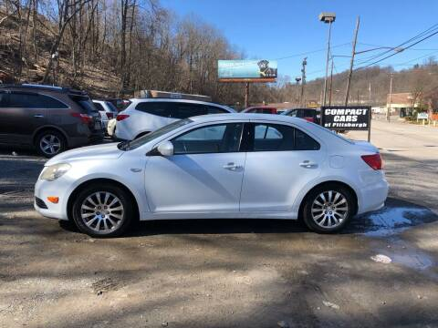 2010 Suzuki Kizashi for sale at Compact Cars of Pittsburgh in Pittsburgh PA
