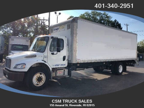 2013 Freightliner M2 106 for sale at CSM TRUCK SALES in Riverside RI