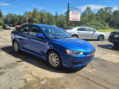 2012 Mitsubishi Lancer for sale at Mc Calls Auto Sales in Brewton AL