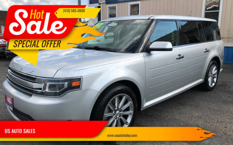 2014 Ford Flex for sale at US AUTO SALES in Baltimore MD