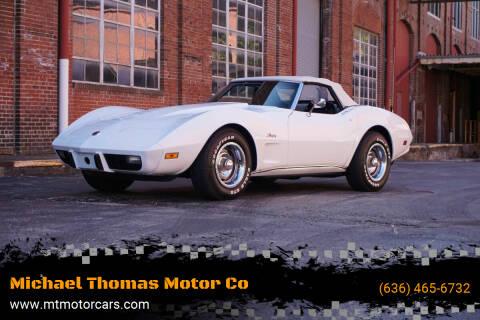1975 Chevrolet Corvette for sale at Michael Thomas Motor Co in Saint Charles MO