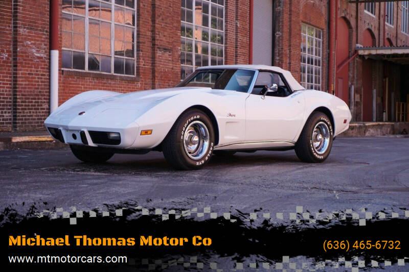 1975 Chevrolet Corvette for sale at Michael Thomas Motor Co in Saint Charles MO