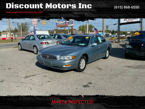 2003 Buick LeSabre for sale at Discount Motors Inc in Madison TN