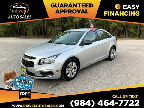 2016 Chevrolet Cruze Limited for sale at Drive 1 Auto Sales in Wake Forest NC