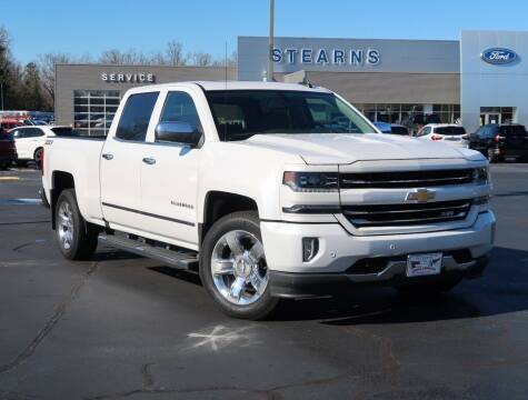 2018 Chevrolet Silverado 1500 for sale at Stearns Ford in Burlington NC