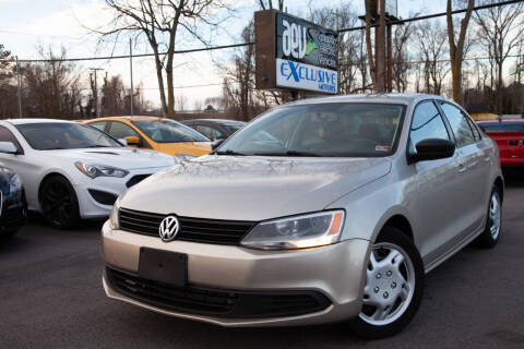 2012 Volkswagen Jetta for sale at EXCLUSIVE MOTORS in Virginia Beach VA