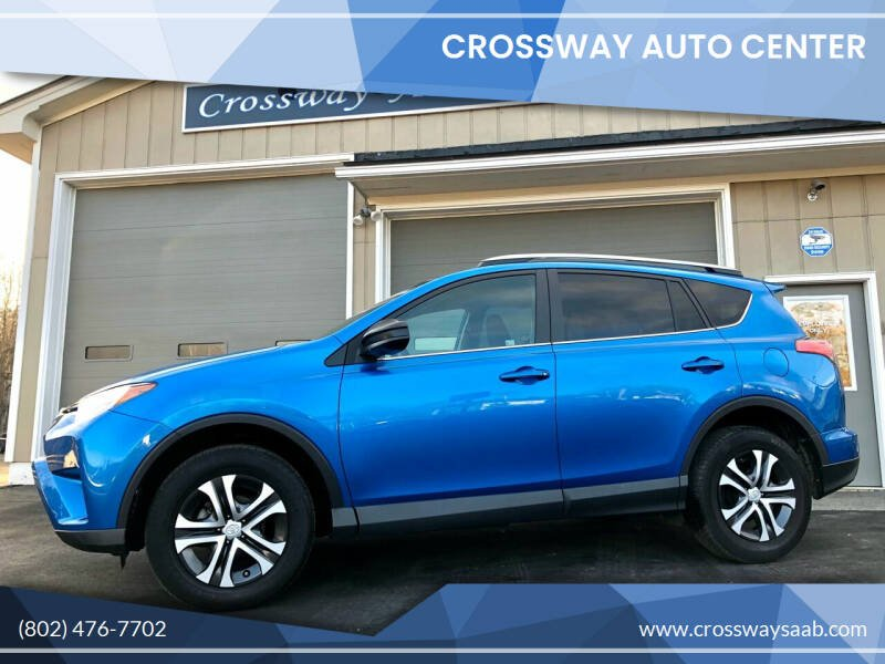 2017 Toyota RAV4 for sale at CROSSWAY AUTO CENTER in East Barre VT