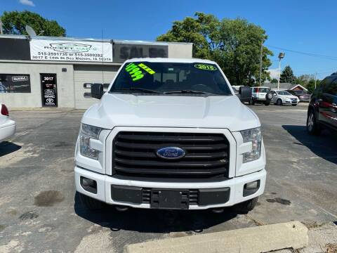 2015 Ford F-150 for sale at Rocket Cars Auto Sales LLC in Des Moines IA