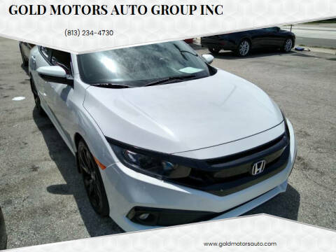 2019 Honda Civic for sale at Gold Motors Auto Group Inc in Tampa FL