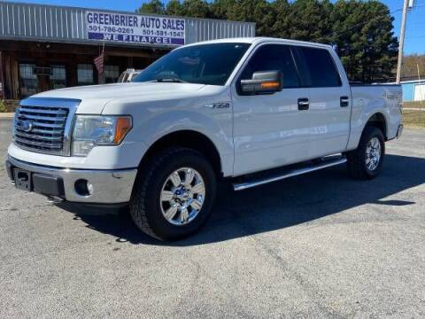 2011 Ford F-150 for sale at Greenbrier Auto Sales in Greenbrier AR