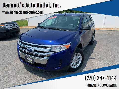 2014 Ford Edge for sale at Bennett's Auto Outlet, Inc. in Mayfield KY